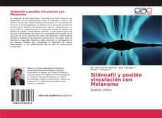 Bookcover of Sildenafil y posible vinculación con Melanoma