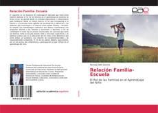 Capa do livro de Relación Familia- Escuela