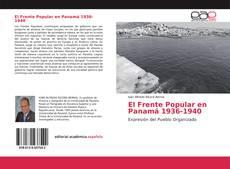 Bookcover of El Frente Popular en Panamá 1936-1940