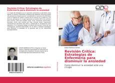 Revisión Crítica: Estrategias de Enfermería para disminuir la ansiedad kitap kapağı