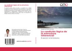 Portada del libro de La condición lógica de la estructura inherencial