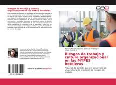 Capa do livro de Riesgos de trabajo y cultura organizacional en las MYPES hoteleras