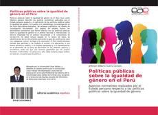 Capa do livro de Políticas públicas sobre la igualdad de género en el Perú