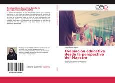 Copertina di Evaluación educativa desde la perspectiva del Maestro