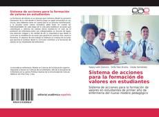 Capa do livro de Sistema de acciones para la formación de valores en estudiantes