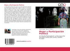 Portada del libro de Mujer y Participación Política