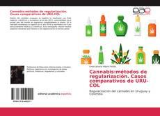 Capa do livro de Cannabis:métodos de regularización. Casos comparativos de URU-COL