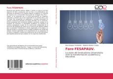 Bookcover of Foro FESAPAUV.