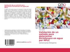 Обложка Validación de un método para determinar Diclofenaco en agua por HPLC