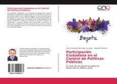Bookcover of Participación Ciudadana en el Control de Políticas Públicas