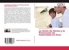 Portada del libro de La Unión de Hecho y la Presunción de Paternidad en Perú