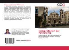 Portada del libro de Interpretación del Patrimonio