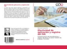 Borítókép a  Efectividad de aplicación y registro del IVA - hoz