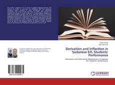 Couverture de Derivation and Inflection in Sudanese EFL Students' Performance