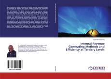 Couverture de Internal Revenue Generating Methods and Efficiency at Tertiary Levels