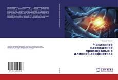 Buchcover von Численное нахождение производных в длинной арифметике