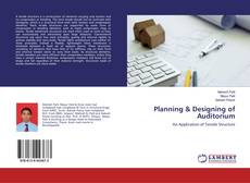 Couverture de Planning & Designing of Auditorium