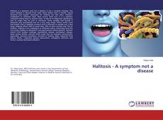 Bookcover of Halitosis - A symptom not a disease