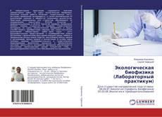 Экологическая биофизика (Лабораторный практикум)的封面