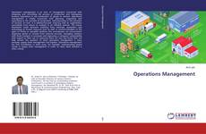 Capa do livro de Operations Management