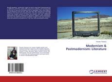 Capa do livro de Modernism & Postmodernism: Literature