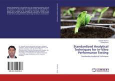 Copertina di Standardized Analytical Techniques for In-Vitro Performance Testing