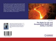 Bookcover of The Right To Life and Occupational Health and Safety in Zambia