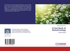 Capa do livro de A Text Book of Biotechnology