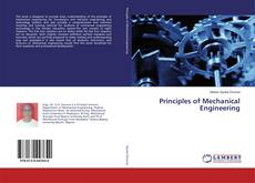 Bookcover of Principles of Mechanical Engineering