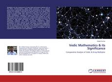 Copertina di Vedic Mathematics & its Significance