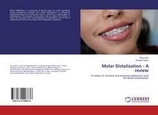 Capa do livro de Molar Distalization - A review