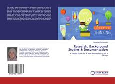 Bookcover of Research, Background Studies & Documentation