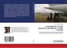 Buchcover von Investigation of the dynamic stability for a light aircraft