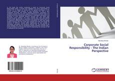 Couverture de Corporate Social Responsibility - The Indian Perspective