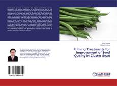 Bookcover of Priming Treatments for Improvement of Seed Quality in Cluster Bean