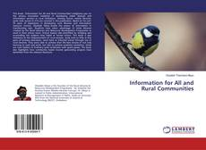 Bookcover of Information for All and Rural Communities