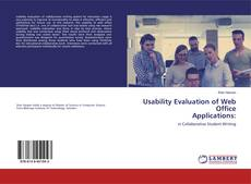 Portada del libro de Usability Evaluation of Web Office Applications: