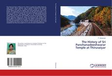 Portada del libro de The History of Sri Panchanadeeshwarar Temple at Thiruvaiyar
