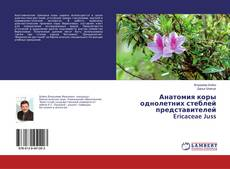 Обложка Анатомия коры однолетних стеблей представителей Ericaceae Juss