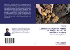 Bookcover of Economic Analysis of Potato in Kangra district of Himachal Pradesh