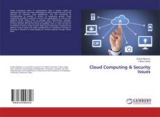 Bookcover of Cloud Computing & Security Issues
