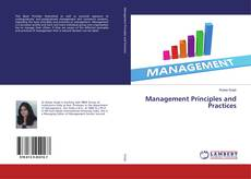 Bookcover of Management Principles and Practices