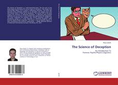 Bookcover of The Science of Deception