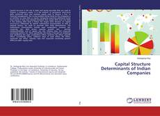 Capital Structure Determinants of Indian Companies kitap kapağı