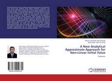 Capa do livro de A New Analytical Approximate Approach for Non-Linear Initial Value