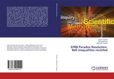Bookcover of EPRB Paradox Resolution. Bell inequalities revisited