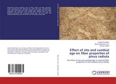 Обложка Effect of site and cambial age on fiber properties of pinus radiata