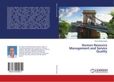 Portada del libro de Human Resource Management and Service Quality