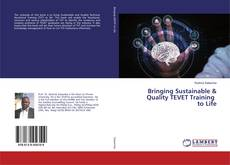 Bookcover of Bringing Sustainable & Quality TEVET Training to Life