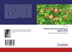 Capa do livro de Preharvest forecasting of apple yield